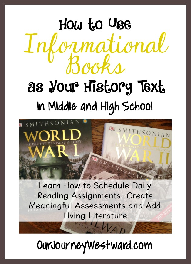 Tired of boring history textbooks? Do you feel like living literature alone isn't enough? Our family has found a great solution by using informational books as our history text!