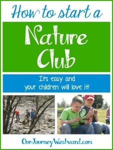 Start your own nature club in five easy steps!