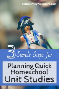 3 Simple Steps for Planning Quick Unit Studies