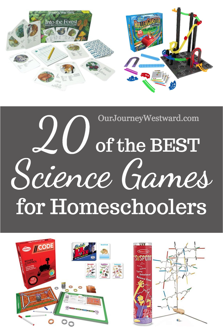 20 of the Best Science Games for Homeschoolers