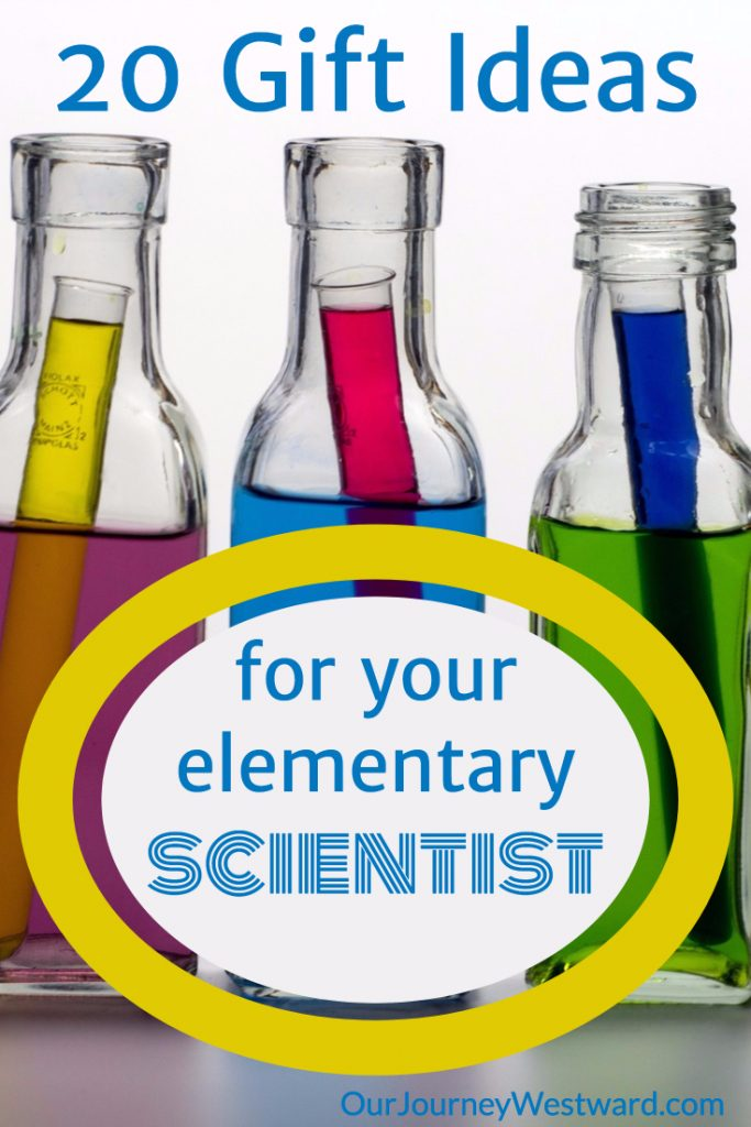 These elementary science gifts are perfect for any time of the year. #science #homeschooling