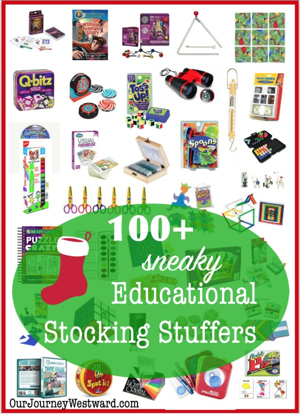Sneaky Educational Stocking Stuffers