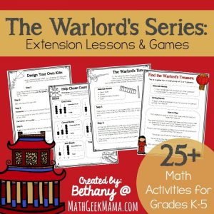 Living Math Lessons for The Warlord's Series