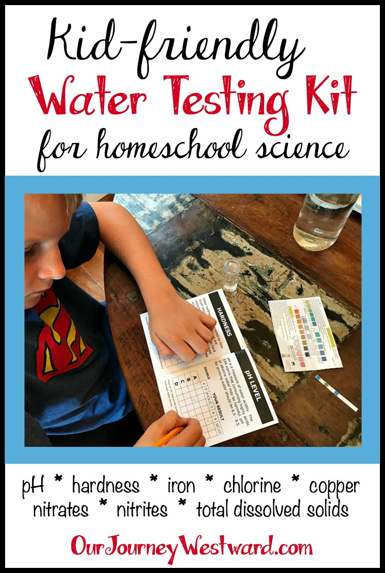 You'll Love This Kid-Friendly Water Testing Kit for Science