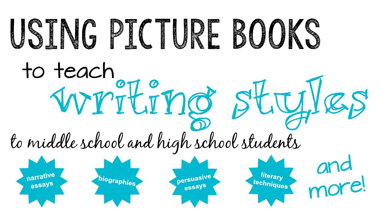 using picture books to teach expository writing to middle and high  picture books are great tools to teach writing styles great lesson ideas here